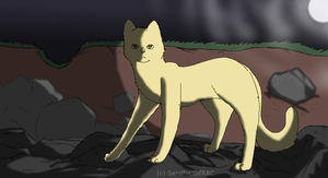 Sandpaw *UPDATED VERSION* by FribbleScribble