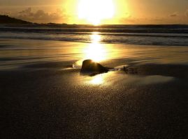 hdr porthmeor sunset 4 by rodgah