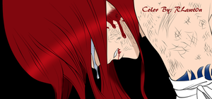 Erza Scarlet~ Near Defeat by RLawt0n