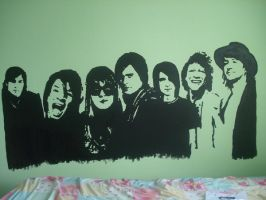 Bedroom Wall 1 by saerie-luv