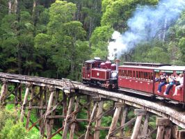 Puffing Billy 3 by Diin-kun