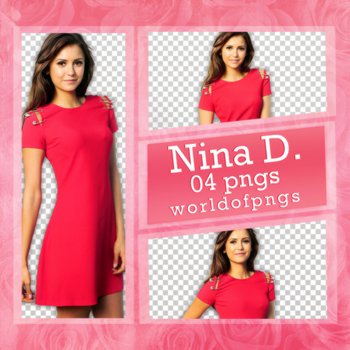 Pack png 160 - Nina Dobrev by worldofpngs
