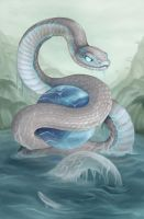 Year of the Snake 2013 by Sleepingfox