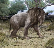 Homalodotherium by olllga81