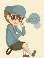 Luke Triton: Assistant #1 by ChibiArmin