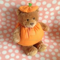 Halloween Build-A-Bear Pumpkin Suit by MadameWario