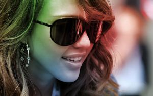 Jessica Alba Colour Mix by flubberzz