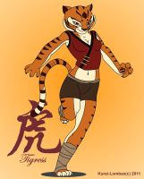 Summer Tigress by Kurai-Lombax