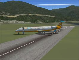 Me Flying a CRJ 700 by Scorch-Dragon