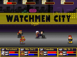 Watchmen City by talic017