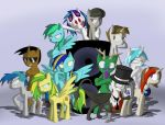 pony musicians by omegadark3564