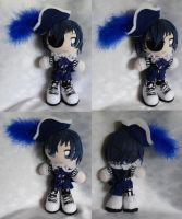 Mini Plushie, Ciel Phantomhive as Smile by LadyoftheSeireitei