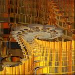 The Golden Fractal Temple by Aexion
