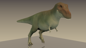 T-Rex (Render 01) by arcupion