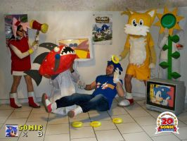 French Sonic Cosplay Conetst entry by funkyjeremi