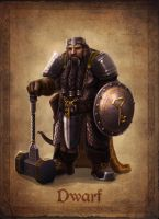 Dwarf Concept by AlanVadell