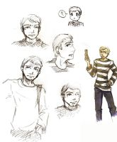 John Sketches by yamiswift
