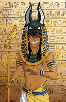 [SH] Benjamin as Anubis by Kei2000