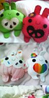 apple cupcake rainbow buns by hellohappycrafts