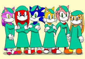Sonic Surgeons by CaseyDecker