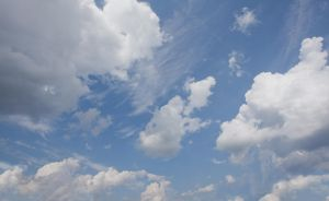 FREE STOCK IMAGE - Cloudy sky by kevron2001