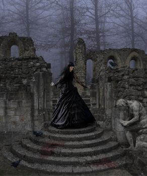 Dancing on ruins by olkag