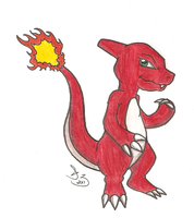 Charmeleon doodle by WhiteFire-Inc