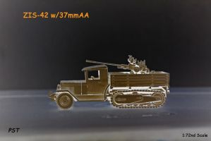 ZIS-42 with 37mm AA by eyepilot13