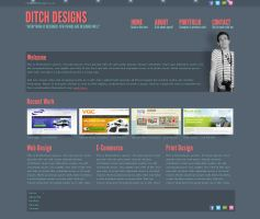 Ditch Designs - Mock Up by ditch-designs