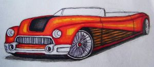 Some old car drawing by GYNGA