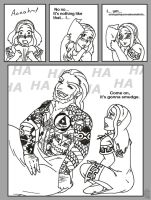 Short: Ganondorf Tattooing by MuseWhimsy