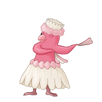 Psychic Type Collab: Psyched Up - Oricorio by Jiolyemaster