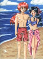 Picture of Summer - KenKao by amako-chan