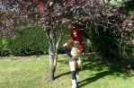 Erza Scarlet Flight armor Fairy Tail cosplay. by AKDCosplay