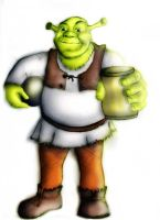 Shrek by danielesr