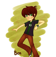 Ben of omniverse by uzuluna