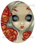 Ghost of a Rose by jasminetoad