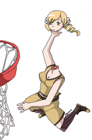 Mami Dunks on herself by HitsujiArmageddon