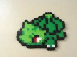 bulbasaur bead sprite by Pokekid6