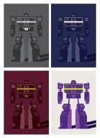 Robot Poster Variations by UniqSchweick12