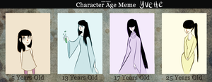 Age Meme: Yvette by wondernez