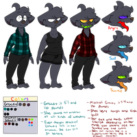 Gracey and Mischief Gracey Ref by ddddspup