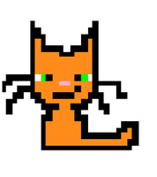 Pixel Kitty by Soulfire1123