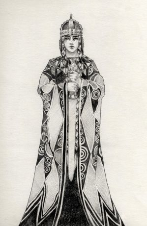 Kriemhild, Siegfried's wife