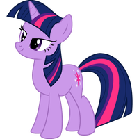 Happy Twilight Sparkle by Spittieawesome