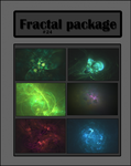 Fractal pack (24 fractals) by Neurologics