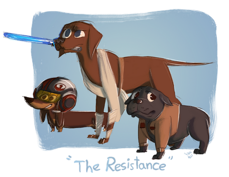 The Resistance by yahualli