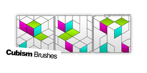 Cubism Brushes. by jlynnxx