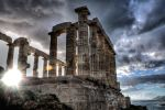 The Temple of Poseidon by StamatisGR