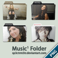 Music Folder 1 PNG by sp3ctrm5tr
